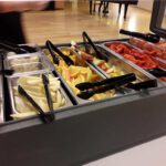 Buffet at the cafeteria